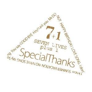 SpecialThanks - 2010.09.22 - SEVEN LIVES plus 1