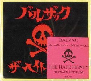 Balzac & Hate Honey - 1998 - Off The Wall [Split]