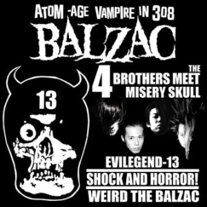 Balzac - 1998 - The 4 Brothers Meet Misery Skull