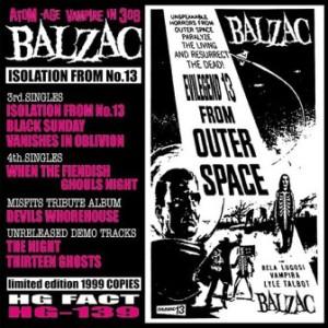 Balzac - 1999 - Isolation From No. 13