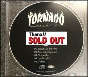 Tornado - 2018 - 5 Songs CD