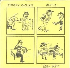 Blotto & Modern Machines - 2006 - Head Hurt (Split)