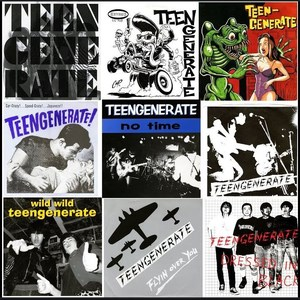 Teengenerate - 1996 - Singles Collection